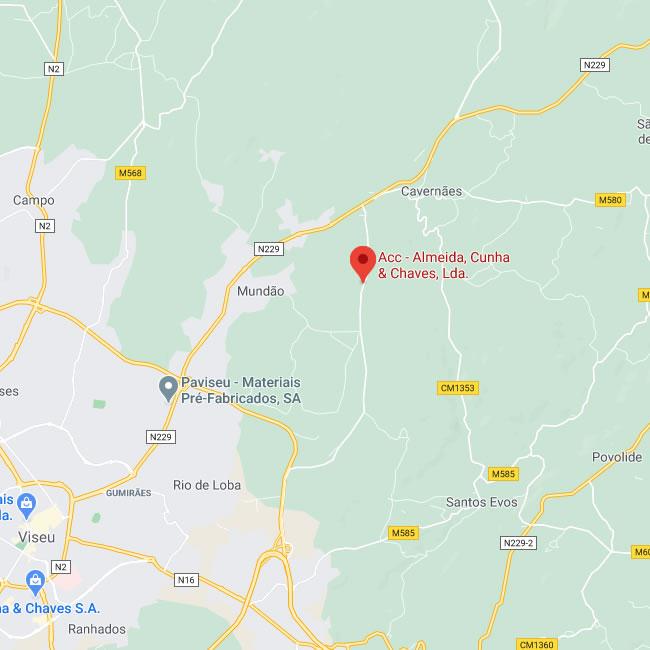 Mapa Localizacao ACC